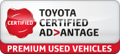 Toyota Certified Advantage